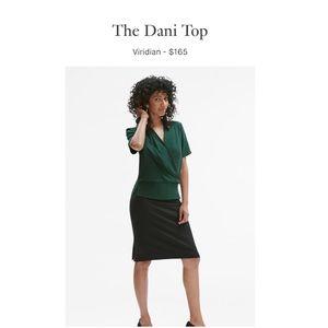 🆕 mm.lafleur—The Dani Top in Viridian-BNWT